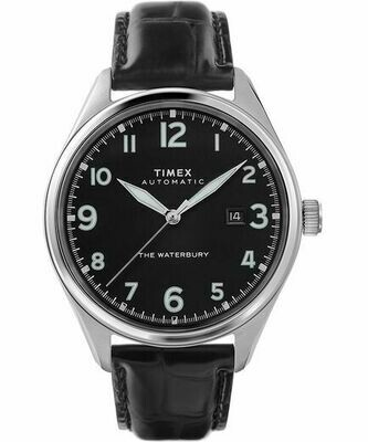 GTS BLACK DIAL S/C AUTOMATIC TIMEX WATCH