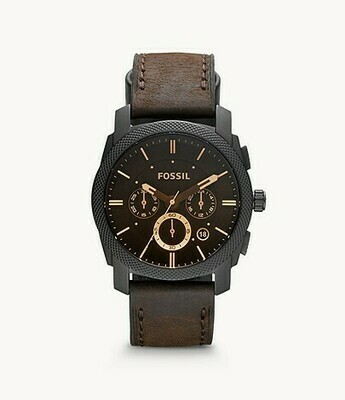 FOSSIL GNTS WATCH BROWN FACE