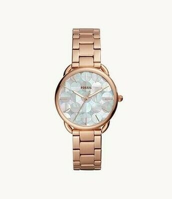 LDS FOSSIL WATCH ROSE TONE