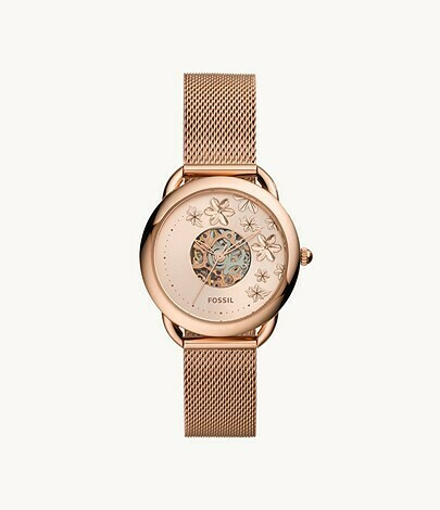 FOSSIL LDS AUTOMATIC WATCH RG/TONE