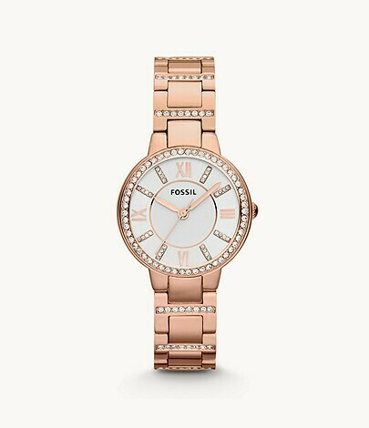 FOSSIL LDS.ROSE/COL W/CRYSTALS