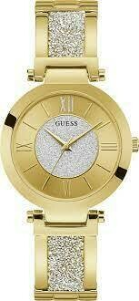 GUESS GOLD TONE LDS WATCH