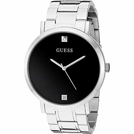 GUESS SILVER TONE GNTS WATCH
