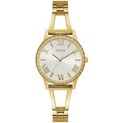 GUESS LDS GOLD TONE WATCH