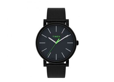GNTS TIMEX BLK WATCH