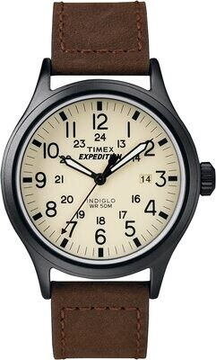 GTS BLK CASE TIMEX EXPEDITION WATCH