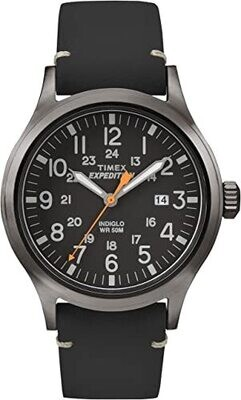 GTS GREY/BLACK TIMEX EXPEDITION WATCH