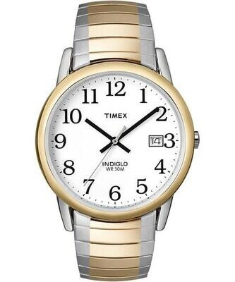 LDS S/C WHITE DIAL TIMEX WATCH
