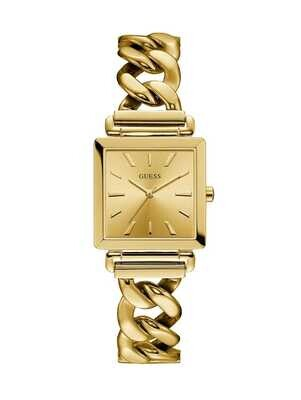 LDS G/C SQUARE FACE GUESS WATCH