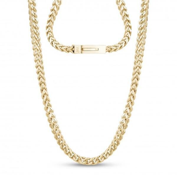 STAINLESS 3MM GP FRANCO NECKLACE