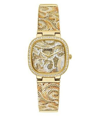 GUESS SQUARE CHAMP' LDS WATCH