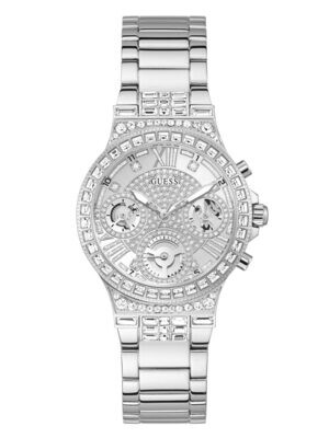 GUESS SILV/TONE LDS WATCH