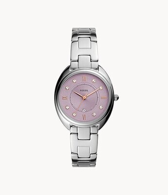 FOSSIL LDS WATCH W/PINK FACE