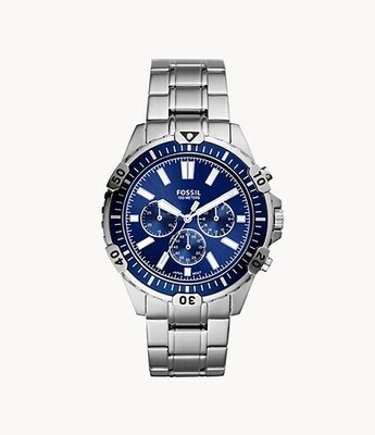 FOSSIL GNTS WATCH BLUE FACE