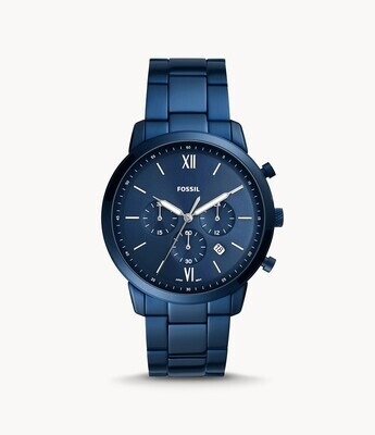 FOSSIL GNTS WATCH BLUE TONE