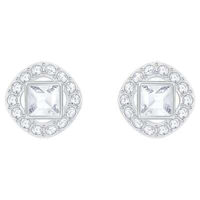 SWAROVSKI ANGELIC SQUARE earrings/CRY/RHS