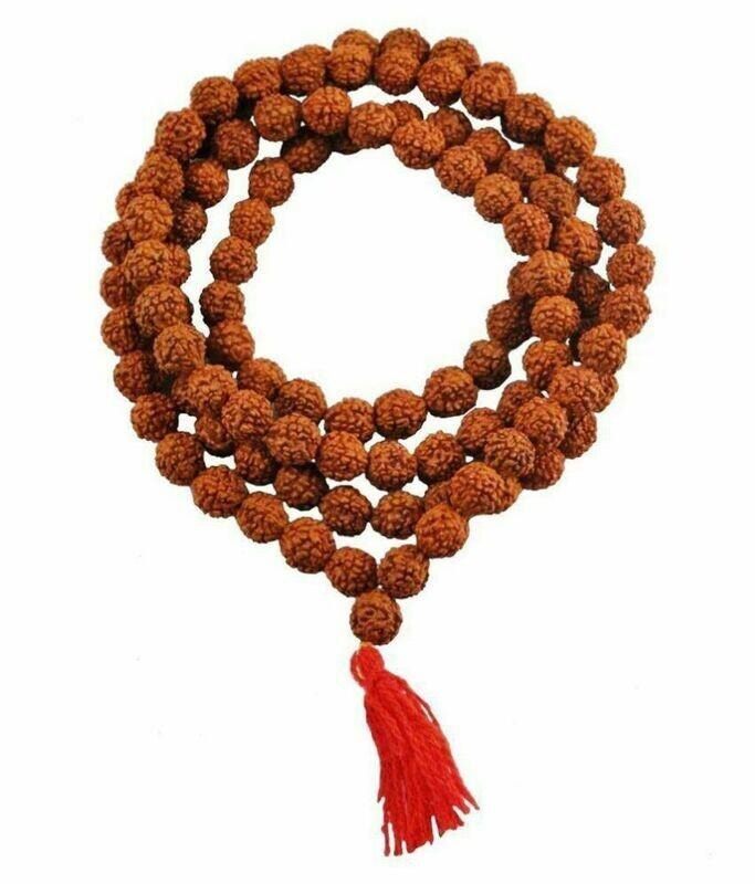 Original Mala of Nepali Panch Mukhi Rudraksha Beads