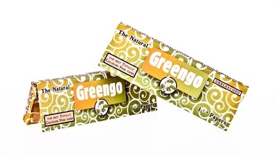 'Greengo' Papers 1 1/4 Size unbleached