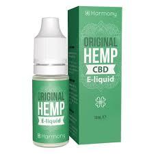 Harmony Original Hemp CBD E-Liquid 10ml 1% CBD