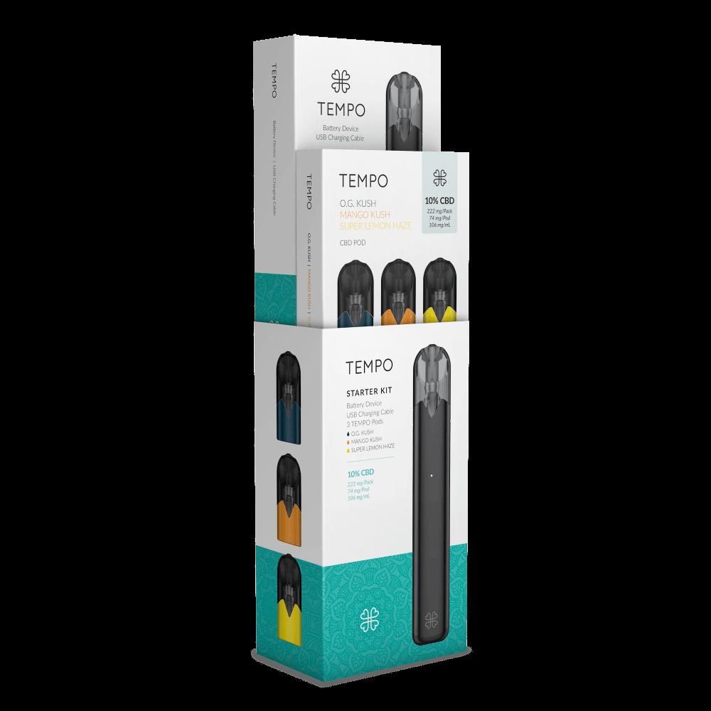 Harmony TEMPO Originals Kit Battery + 3 Pods – per unit