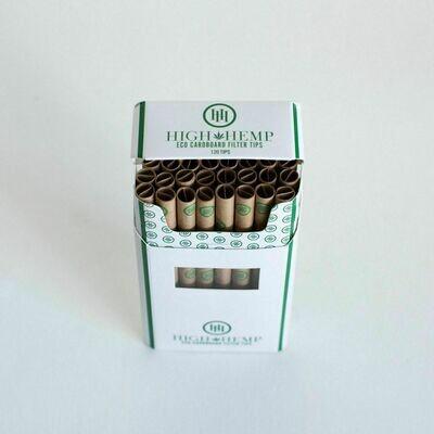 'High Hemp' Eco Cardboard Filter Tips