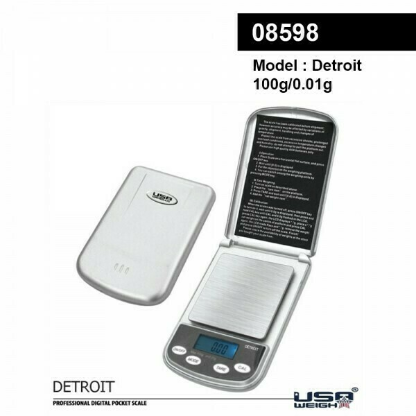 USA Weight | Detroit digital scale 100g - 0.01g