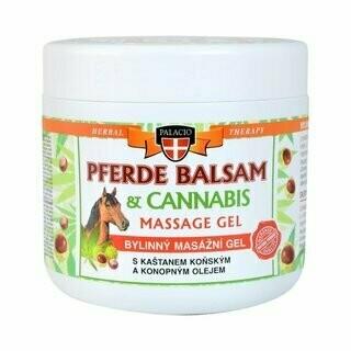 Cannabis Herbal Massage Gel Horse Balm with Horse Chestnut 600ml
