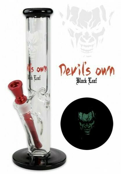 'Black Leaf' 'Devil's Own' Icebong Glow Aluadapter