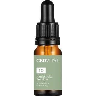 CBD Aromaöl CBD Vital Hanfextrakt Premium 10%