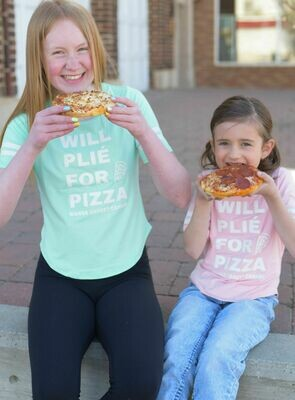 Will Plie For Pizza - Girls