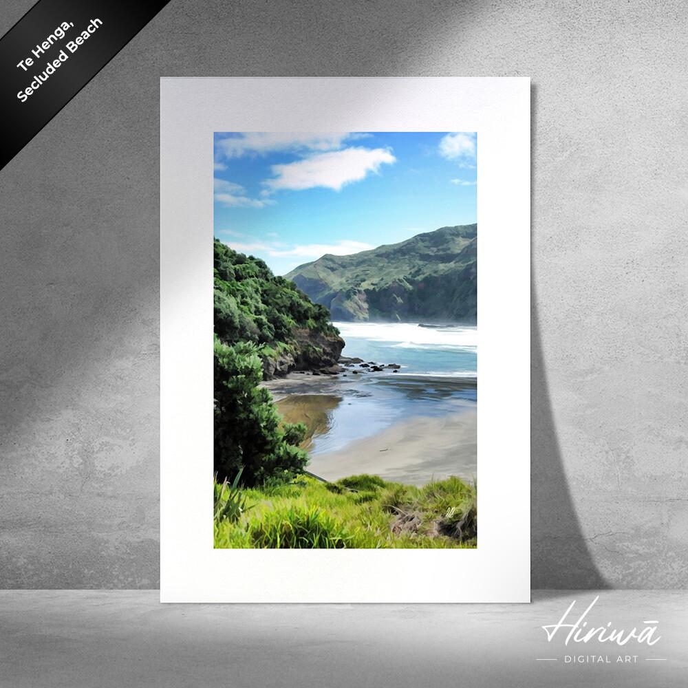 """""""Te Henga, Secluded Beach"""""""