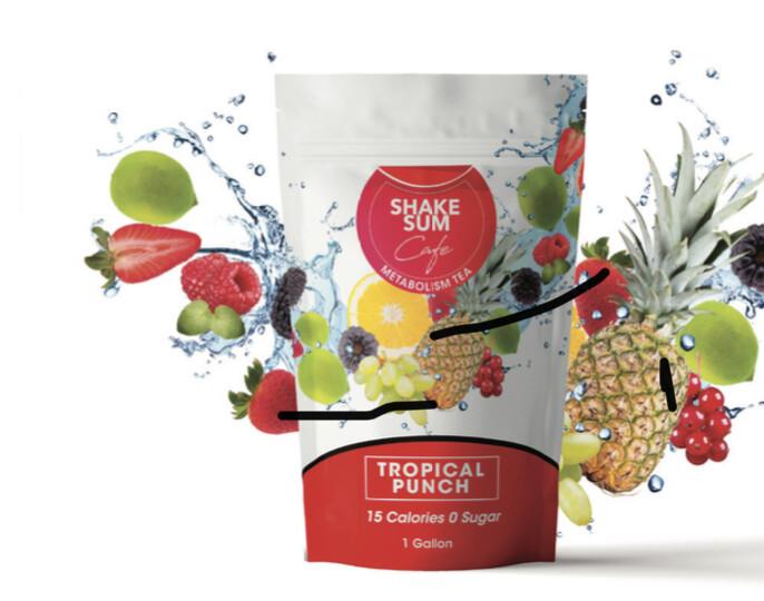 Shake Sum Tea- Blue Raspberry