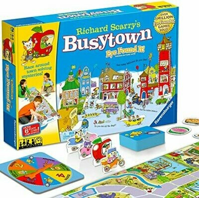01017 Richard Scarry's Busytown Eye Found It Game
