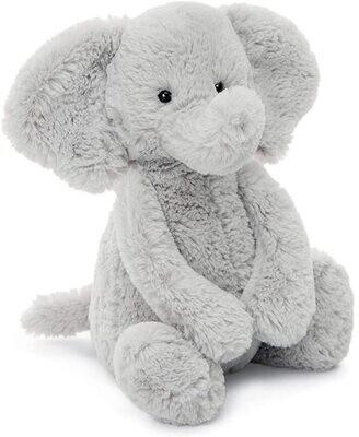 JC Bashful Silver Elephant Medium