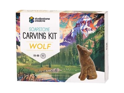 Wolf Carving Kit