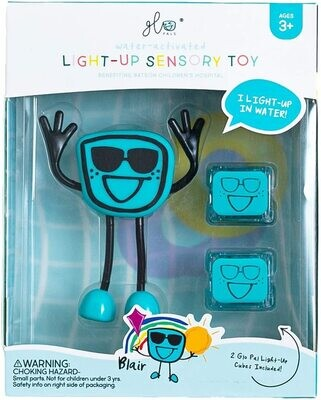Glo Pals Character Blair (Blue) NEW