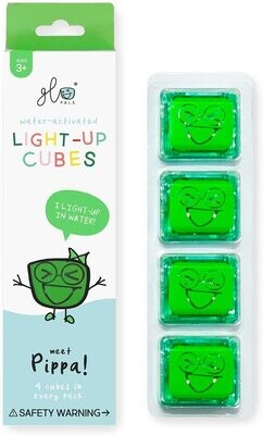 Glo Pals Pippa (Green) 4 Pack NEW