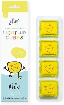 Glo Pals Alex (Yellow) 4 Pack NEW