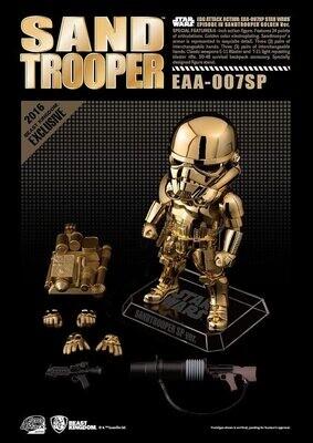 Egg Attack SDCC Gold Chrome Sandtrooper