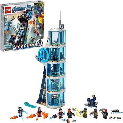 Lego 76166 Avengers Tower Battle
