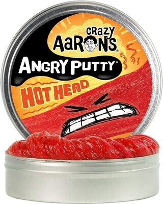 Crazy Aaron's Thinking Putty Angry Putty Hot Head
