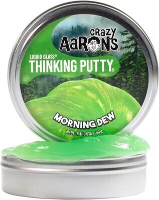Crazy Aaron's Thinking Putty Liquid Glass Morning Dew