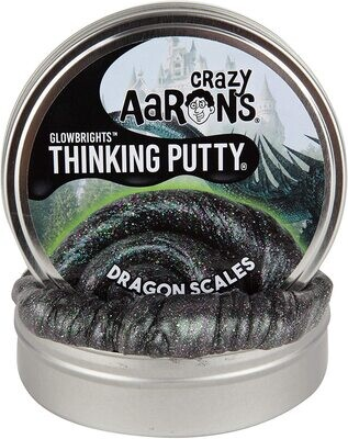 Crazy Aaron's Thinking Putty Glow Brights Dragon Scales