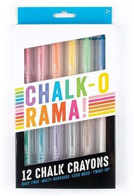 Chalk O Rama Dustless Chalk Sticks Set of 12