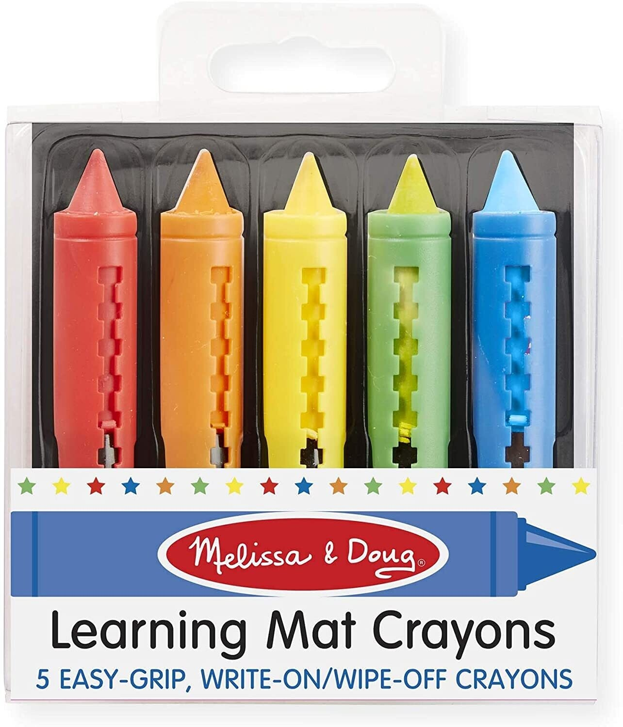 MD Learning Mat Crayons 5 colors