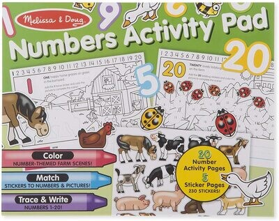 MD Numbers Activity Pad