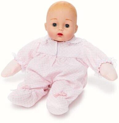 "Madame Alexander 12"" Pink Check Huggums"