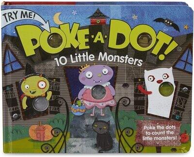 MD Poke A Dot 10 Little Monsters