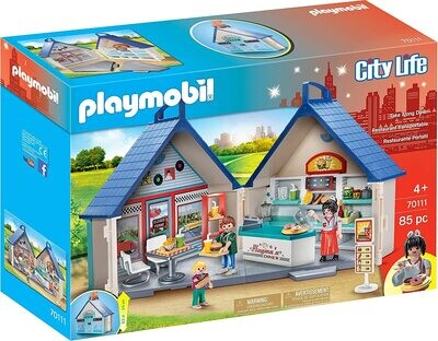 Playmobil 70111 Take Along Diner
