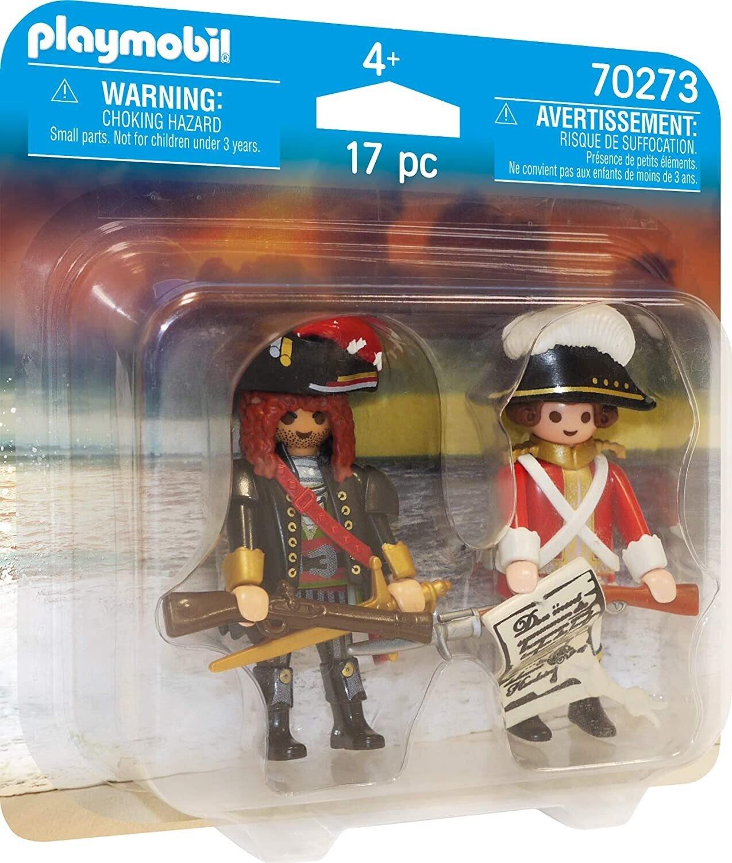 Playmobil 70273 DuoPack Pirate and Redcoat